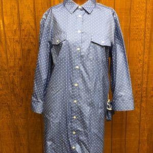 Jones New York signature XL dress polkadot